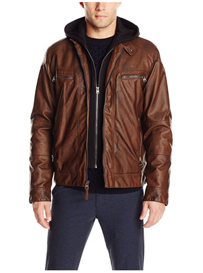 Find great deals on eBay for faux leather jacket with hoodie. Shop with confidence.