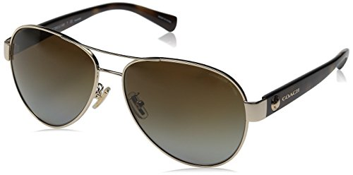 98d98cc19aebc Coach Womens Sunglasses (HC7063) Metal